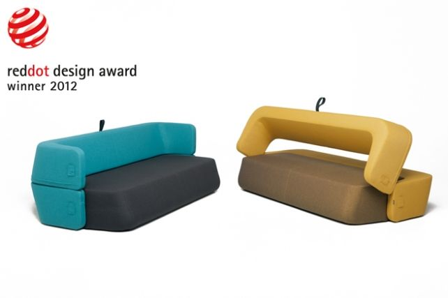Sofa Revolve wins the 2012 Red Dot Award for product design!
