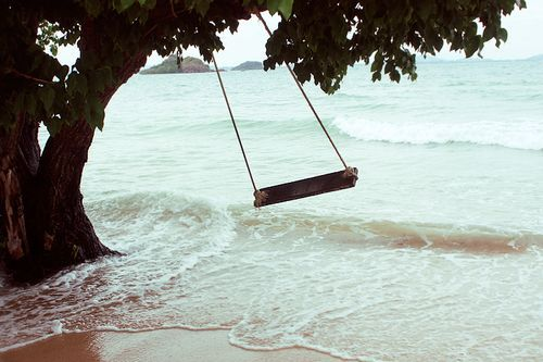loveeeOcean Beach, Buckets Lists, Favorite Places, Dreams, The Ocean, Peace, Sea, Trees Swings, The Waves