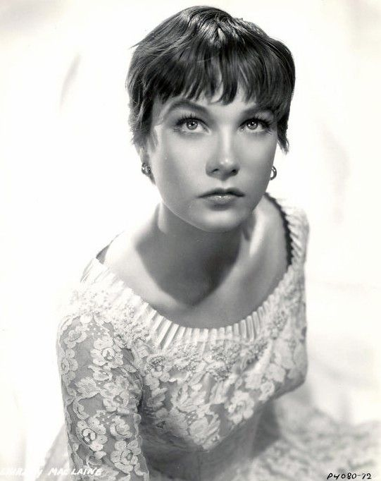 Shirley Maclaine (Shirley MacLean Beaty) (born in Richmond, Virginia (USA) on April 24, 1934)