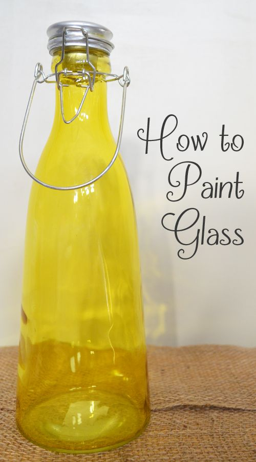 If you would like to paint glass, whether it's glassware, a window, a vase or a jar there are a few things to know & ask yourself before you start. View the slideshow below to read more: