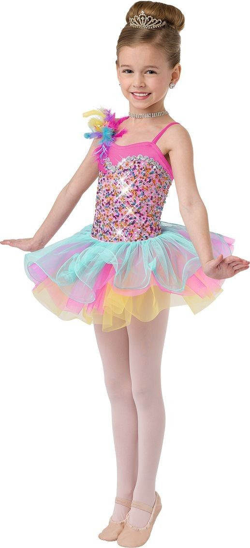 939f545296 Fantasia Infantil Bailarina Meninas Colorida Saia Frufru Carnaval Halloween