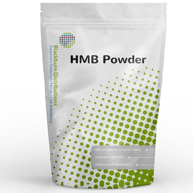 HMB Calcium Anhydrous is derived from the essential amino acid Leucine. http://www.blackburndistributions.com/hmb-powder.html
