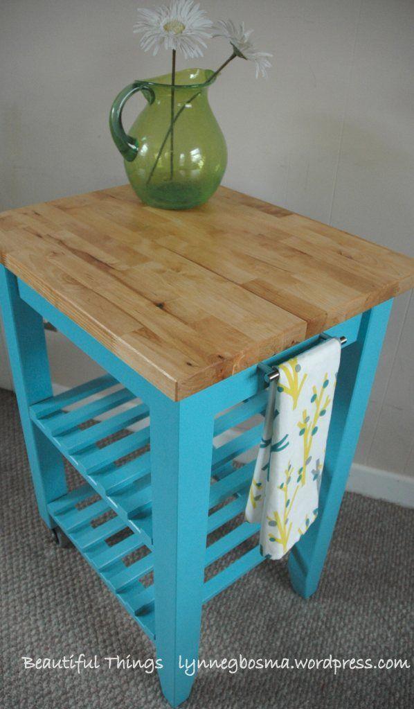 bekvam kitchen cart hacks