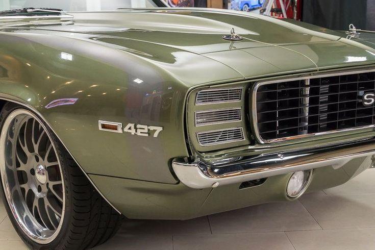 Großartiger 1969er Chevrolet Camaro Pro Touring Pro Build! GM 427ci V8 EFI, Tremec 5-Gang, Mini-Wanne, Wilwood, Art Morrison, Klimaanlage 2017/2018   – 1969 Camaro