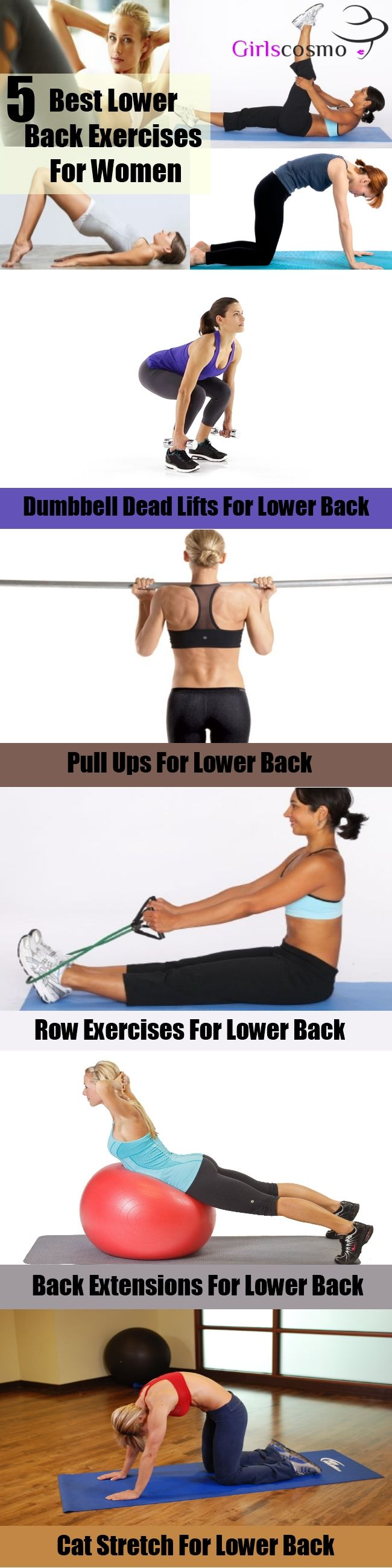 1000+ ideas about Lower Back Exercises on Pinterest ...