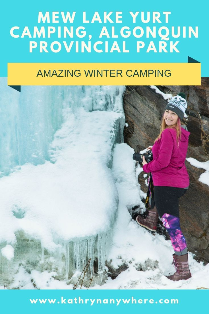 Yurt Winter Camping In Algonquin? Yes Please! | Winter ...