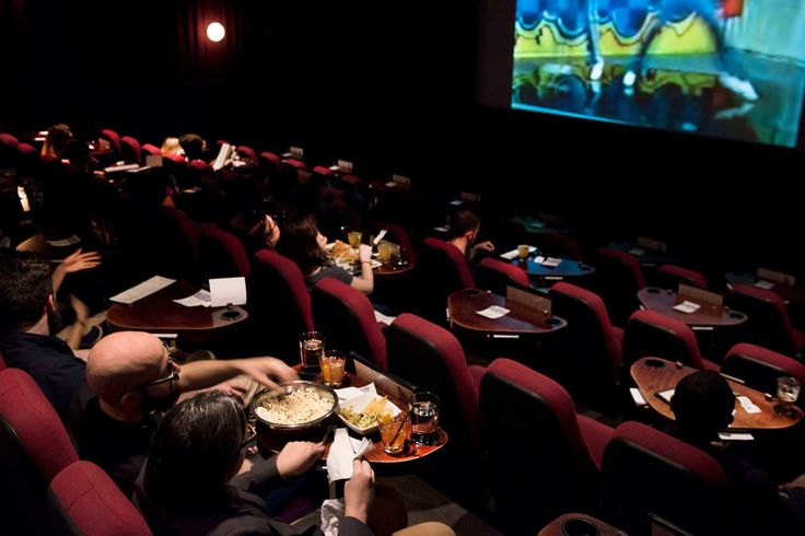 The Absolute Best Dine-In Movie Theater in New York