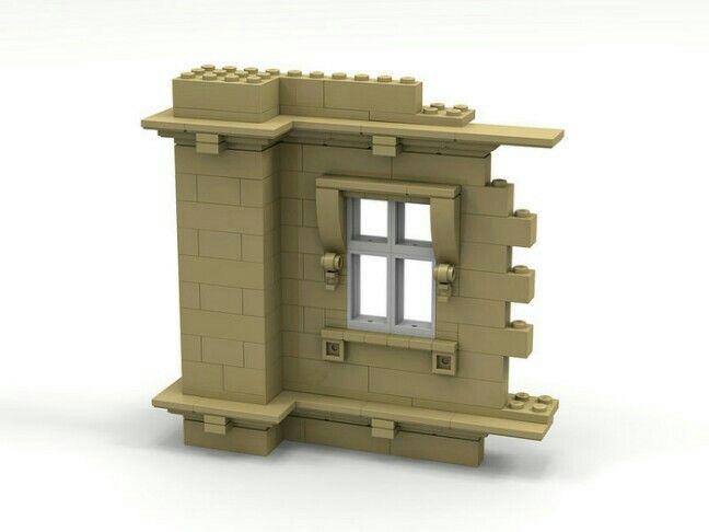 Lego window details