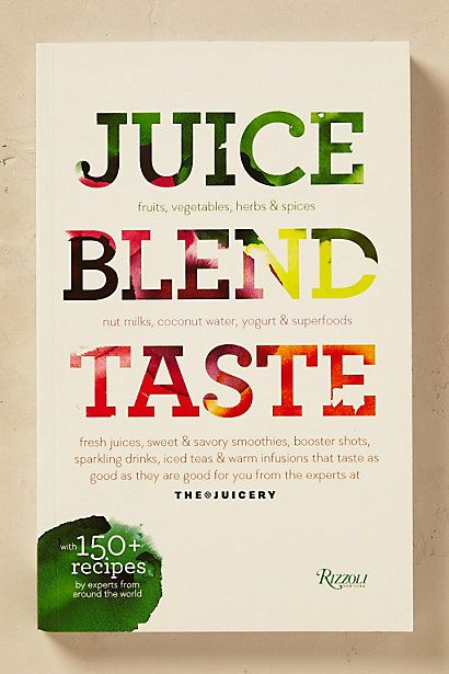 Anthropologie EU Juice Blend Taste