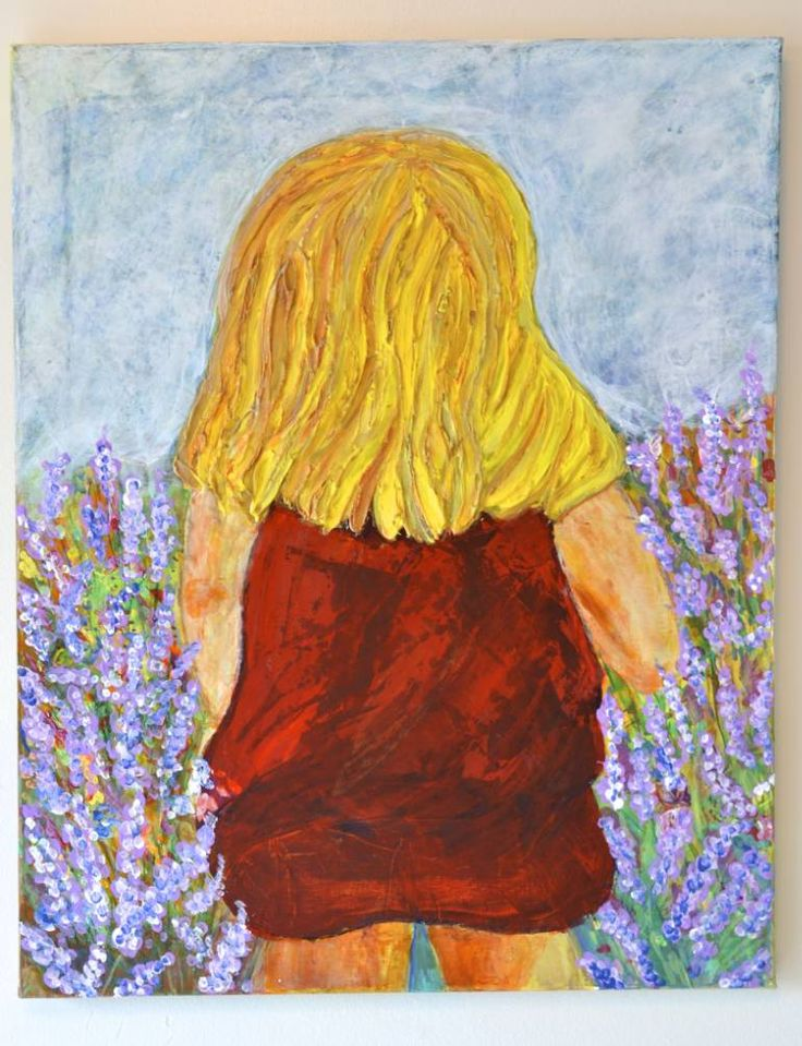 "Saatchi Art Artist Lavi Picu; Painting, ""The inner child"" #art"