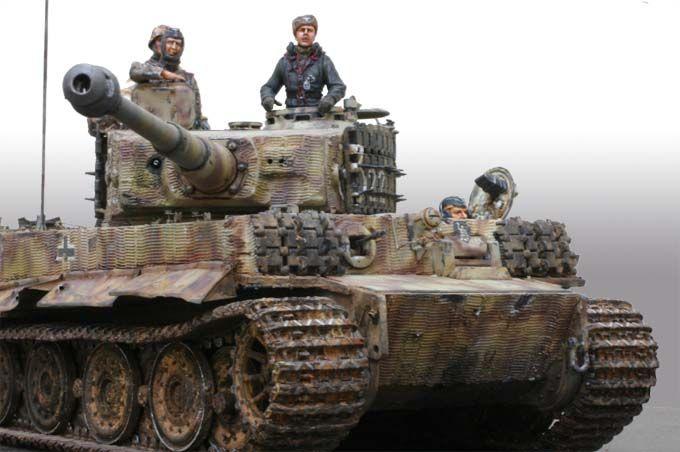 タイガー1型 507重戦車大隊 | 戦車, ドイツ, 模型