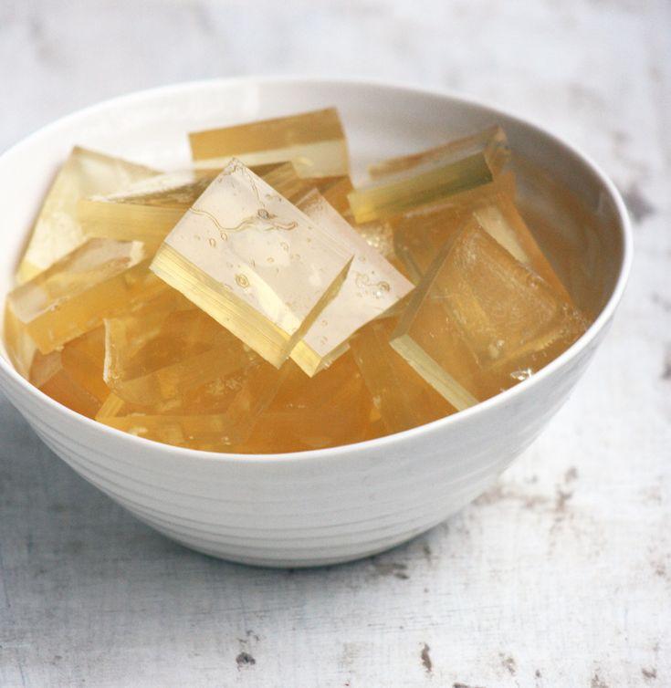 Coconut Water Jellies (gelatin)