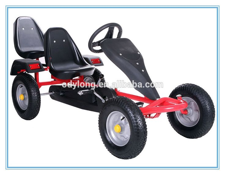 Source 2 seat cheap go karts for sale/two person pedal car for adults on m.alibaba.com