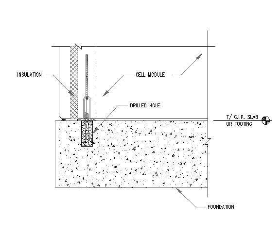 Precast Concrete Architectural Details : Figure connection detail b architecture structure