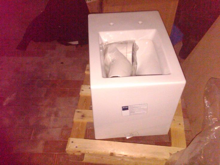 Simas Frozen Back to Wall Toilet