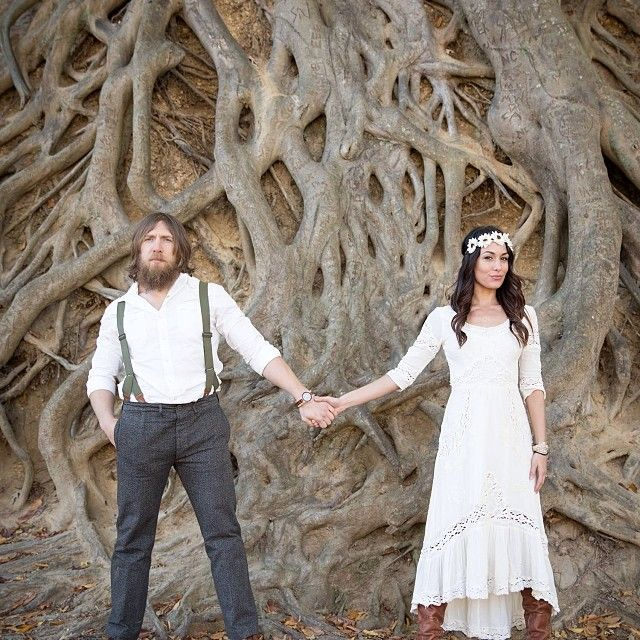 Daniel Bryan and Brie Bella engagement photo