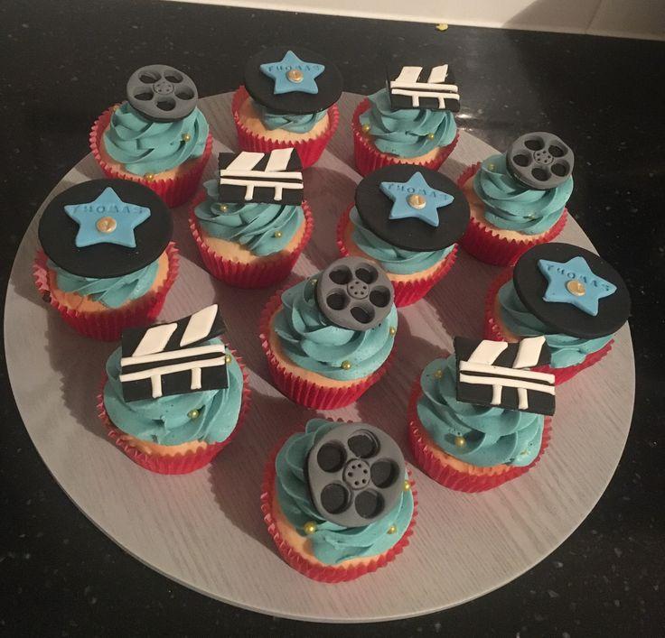 Movie night cupcakes