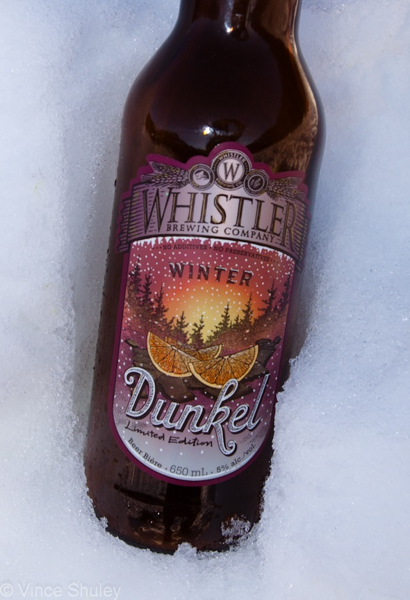 Whistler Brewery's seasonal ale Winter Dunkel.