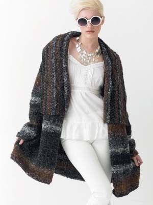 Jacket | Knitting Fever Yarns & Euro Yarns