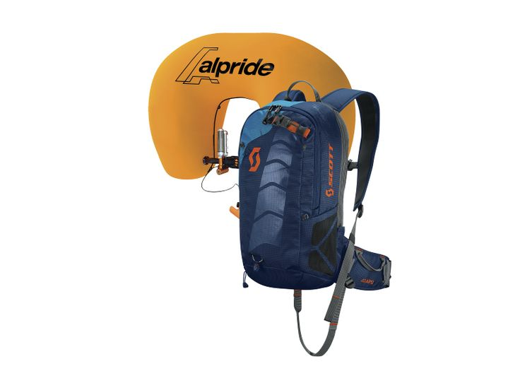 The new SCOTT Air Free AP 12 is a light and compact avalanche pack. A stand-alone SCOTT Alpride Airbag System, this pack provides ample space for essentials like a shovel and probe, and additional items such as gloves, layers, or goggles. This pack is simply an excellent choice for your next adventure.