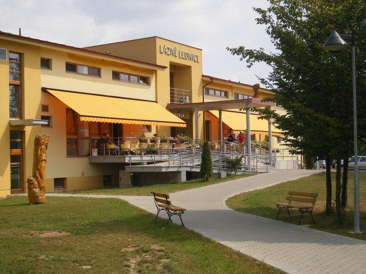 Lázně Lednice, Lázeňský dům Perla - Lednice  www.lednicelazne.cz Hotel 3* Superior