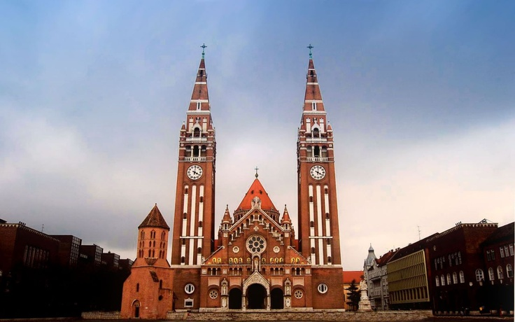 Szeged, the city of my heart. Dóm.