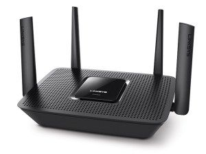 Linksys has let me know that it is now shipping its new 802.11ac Tri-Band MU-MIMO Router. Here\\\'s the Max Stream EA8300.The Linksys EA8300 is an AC2200 Tri-Band MU-MIMO router, priced atunder £180. This hands users MU-MIMO technology at an entry-level price.MU-MIMO (Multi-User, Multiple-Input, Multiple Output) enables even faster speeds for ...
