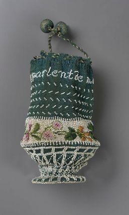 Drawstring bag French ca. 1800-1830