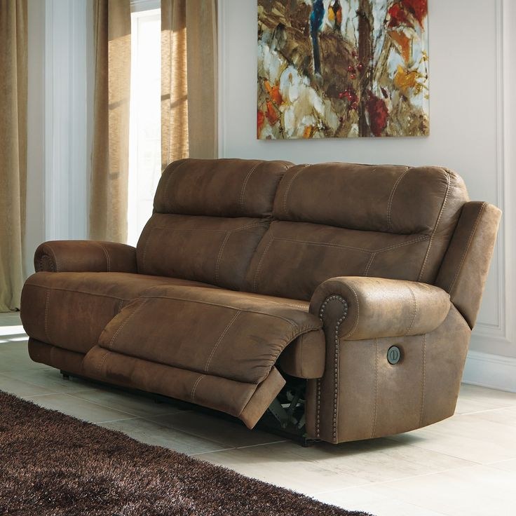 Austere 2 Seat Reclining Sofa By Signature Design By Ashley Overall: 42u0027u0027 H  X 91u0027u0027 W X 40u0027u0027 D Seat: 70u0027u0027 W X 22u0027u0027 D Fully Reclined: 69u0027u0027 D Overall U2026
