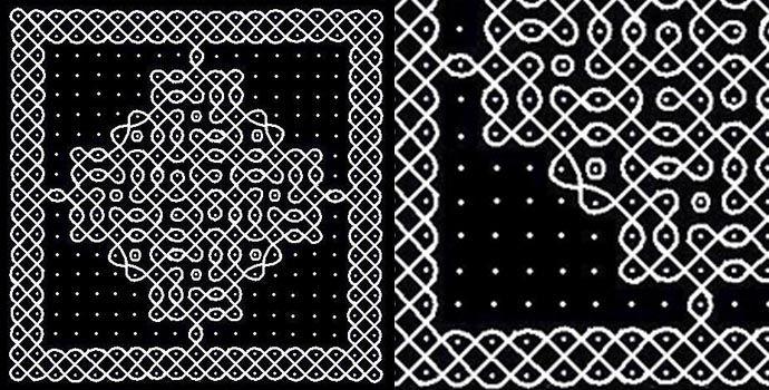 40 Best Rangoli Dots Designs – Part 2 | Lets Create Crafts