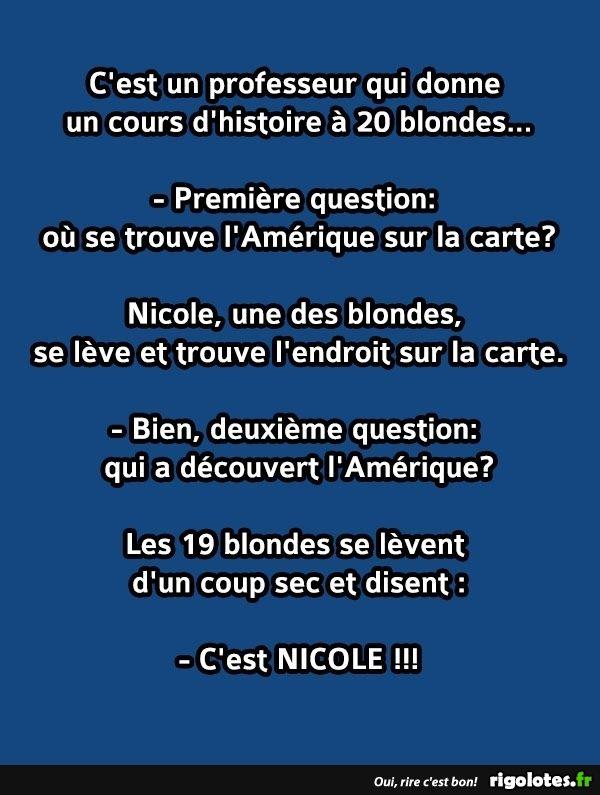 Souvent Les 25 meilleures idées de la catégorie Humour blonde sur  PY49