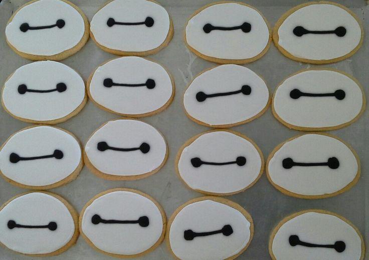 Baymax  cookies