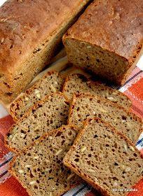 chleb , pieczywo , bochenek , mąka żytnia , mąką pełnoziarnista , ziarna , pestki dyni , pestki słonecznika , domowa piekarnia , domowe wypieki , moje wypieki , smaczna pyza , blog kulinarny , przepisy , jedzenie , najsmaczniejsze ,