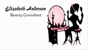 Beauty Consultant Girly Pink Black Hair Salon Business Cards - $21.95