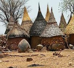 Huts in Cameroon, Africa. Travel to Cameroon with CAMEROON DMC. A member of GONDWANA DMCs, your network of boutique Destination Management Companies across the globe. www.gondwana-dmcs.net