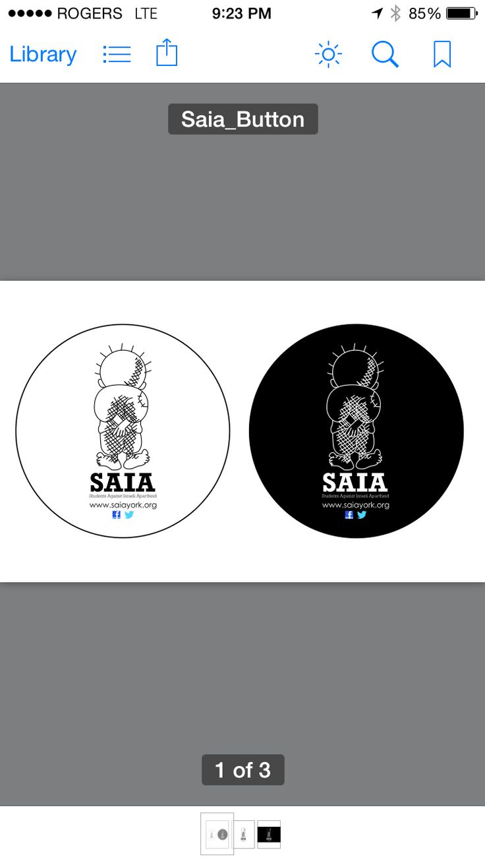 SAIA buttons