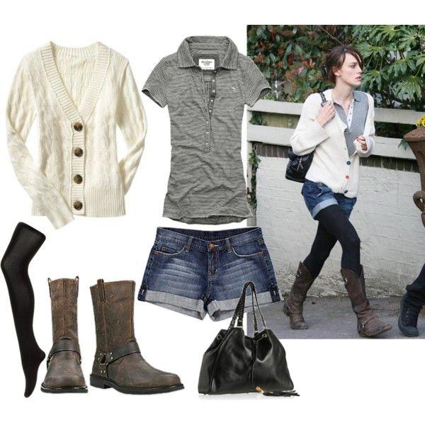 Keira Knightley casual street style