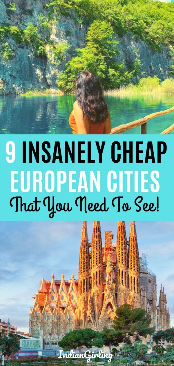 9 Cheap European Cities