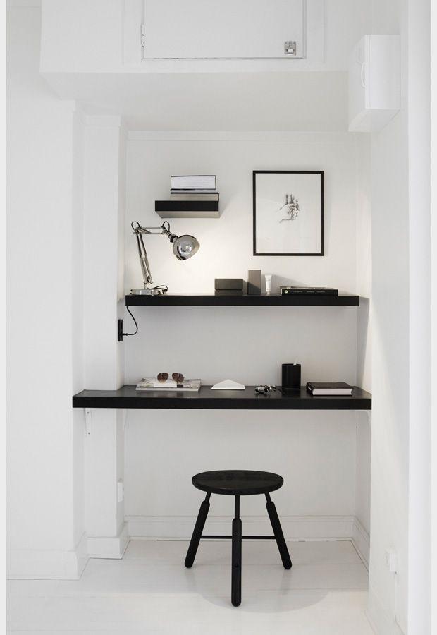 Pour le bureau, black details -- Home office inspiration from Fantastic Frank | Design Studio 210
