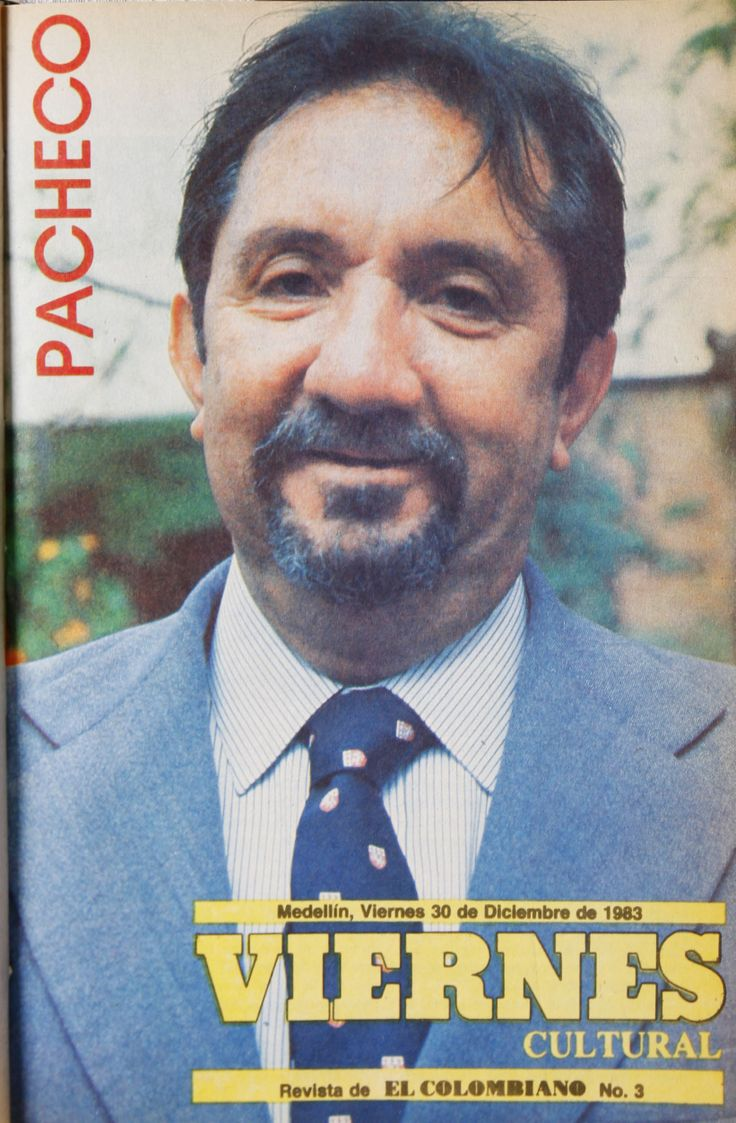 Pacheco en la #RevistaViernes30años.