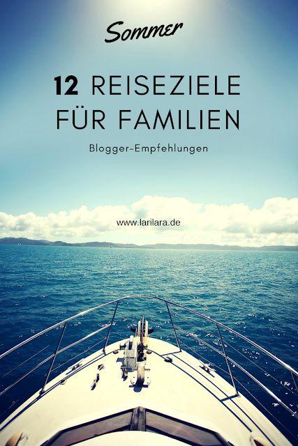 12 Reiseziele für Familien