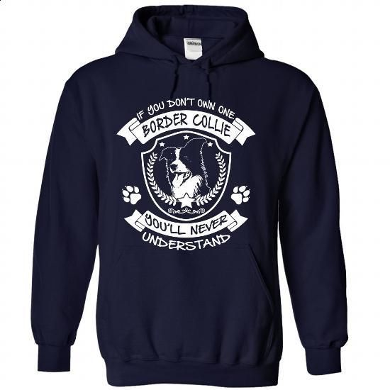 Border Collie - #crew neck sweatshirts #navy sweatshirt. GET YOURS => https://www.sunfrog.com/Pets/Border-Collie-6407-NavyBlue-Hoodie.html?60505