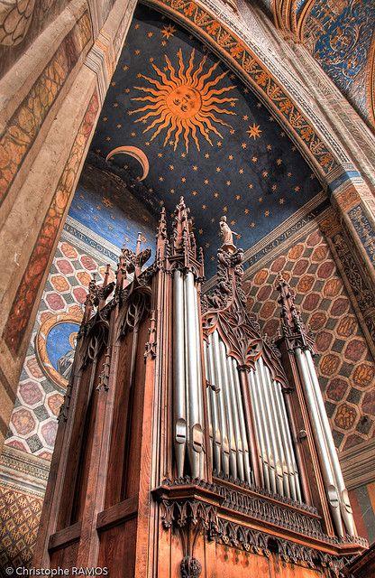 La Cathédrale Sainte-Cecile, Albi, Midi-Pyrenees, France