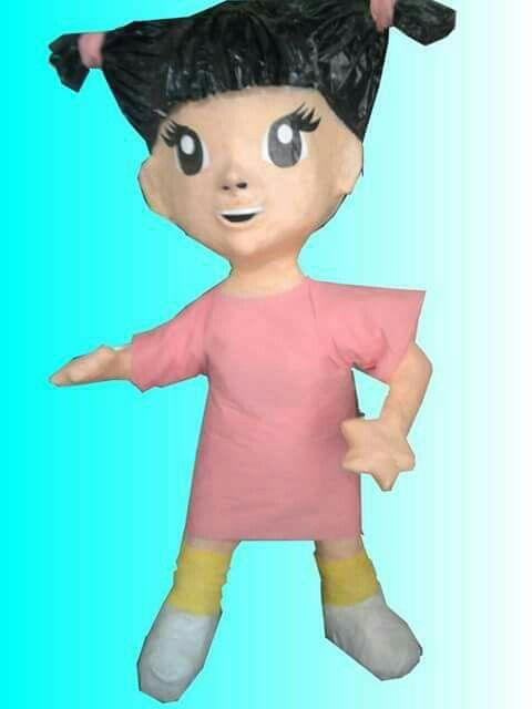 Monster Inc envio a la niña Boo  | Piñatas de Halloween