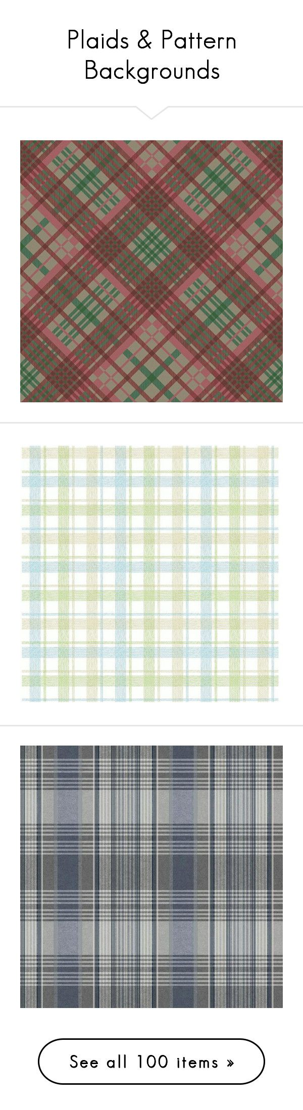 """Plaids & Pattern Backgrounds"" by aunt-kiki ❤ liked on Polyvore featuring backgrounds, home, home decor, wallpaper, plaid wallpaper, blue home accessories, blue home decor, green wallpaper, peelable wallpaper and wall"