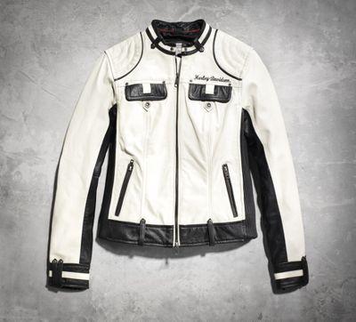 Ladies Harley Davidson Jacket Rivets