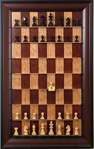 Wooden Chess pieces on Red Cherry Straight Up Chess set Straight up Chess http://www.amazon.com/dp/B008FMVXX8/ref=cm_sw_r_pi_dp_8YjGub12AS8C1