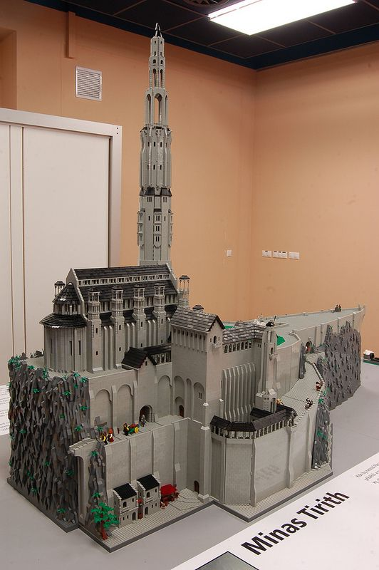 Lego Minas Tirith DSC_3133 | Flickr - Photo Sharing!