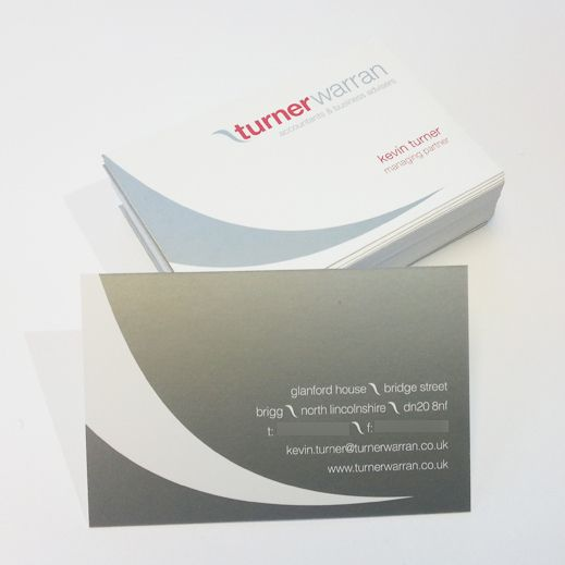 Turner Warran Business Cards