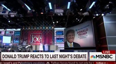Full Video: Donald Trump Live Interview with MSNBC Morning Joe, Democratic Debate, Hillary Clinton, Hosting SNL